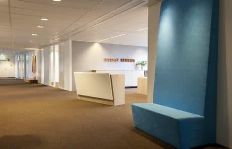 Gebr. Smits kantoor balie interieurbouw
